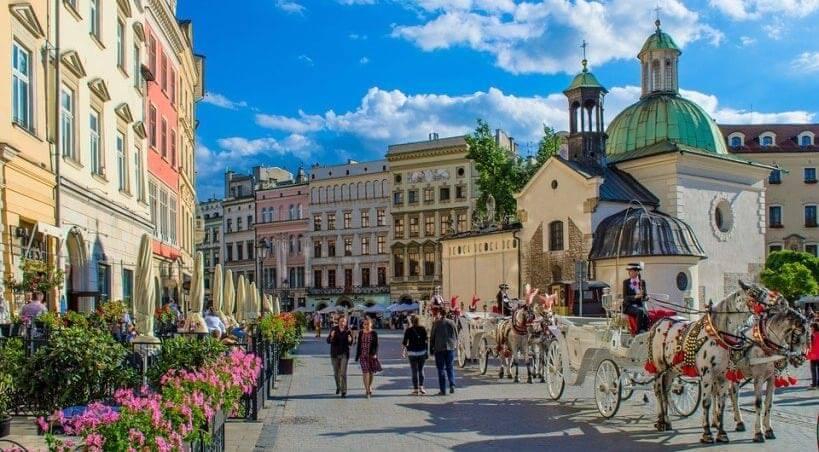 Warszawa, Kraków, Gdańsk, Wrocław połączenia kolejowe