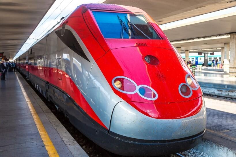 Frecciargento - zwiedzanie Włoch pociągiem