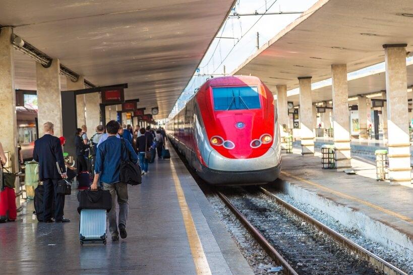 Pociągi we Włoszech