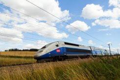TGV train connection