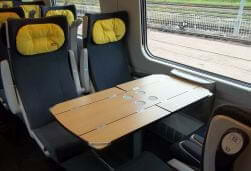 Pendolino - first class