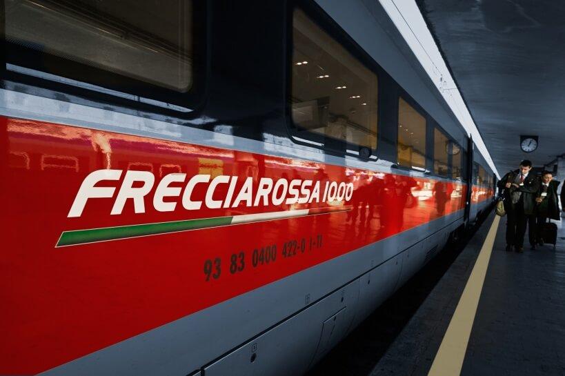 Frecciarossa - szybka kolej we Włoszech