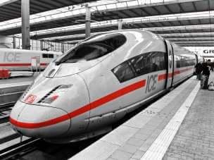 ICE - pociągi dużych prędkości w Niemczech