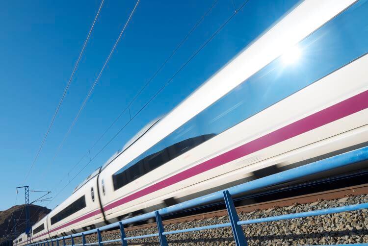Połączenia kolejowe w Hiszpanii
