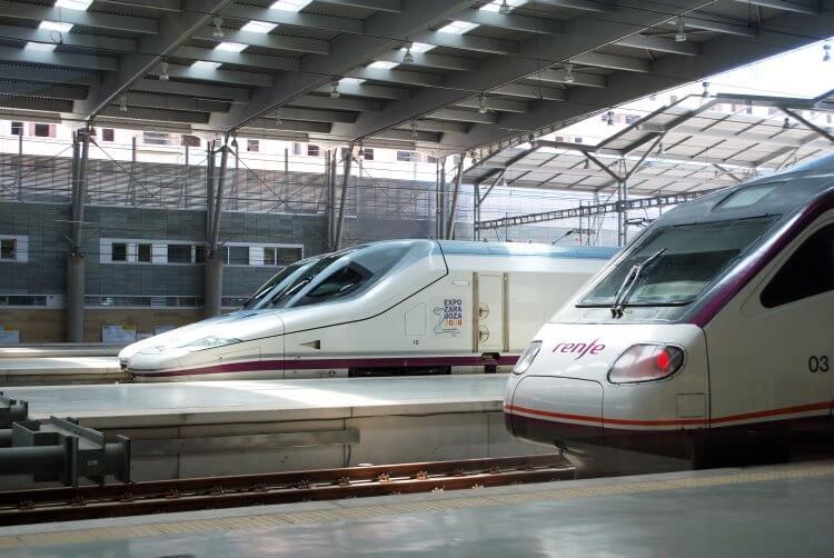 Rozkład jazdy pociągów w Hiszpanii