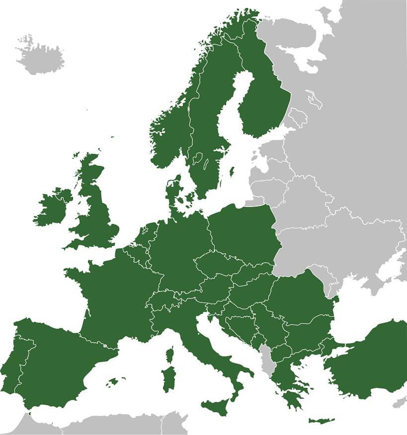 Interrail - pociągi europejskie