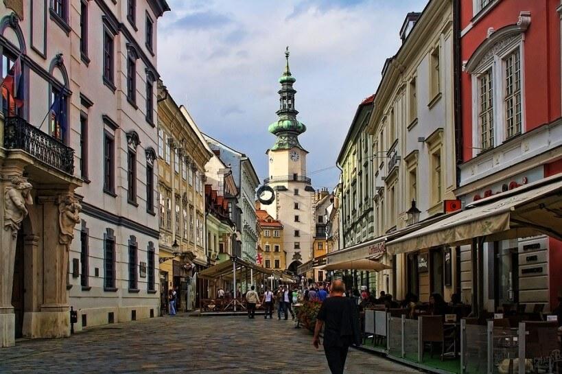 Pociągiem do Bratysławy - Stara Bratysława