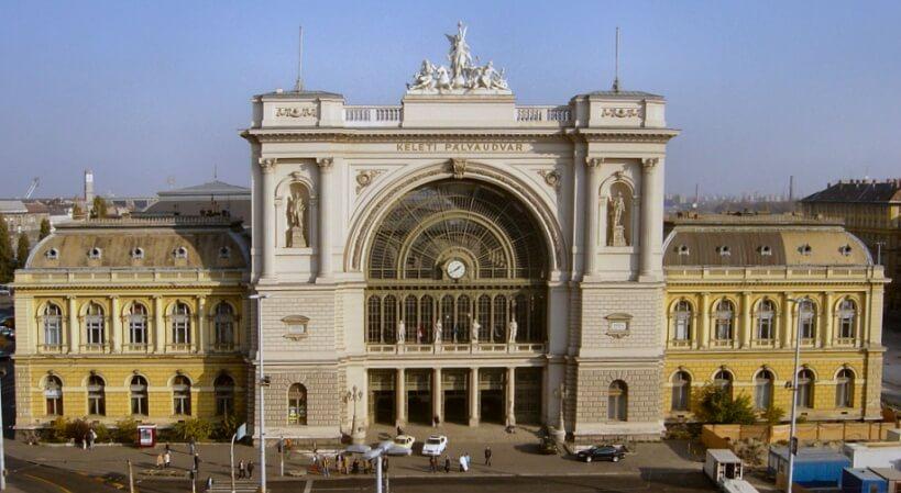 Dworzec Keleti - połączenia kolejowe na Węgrzech