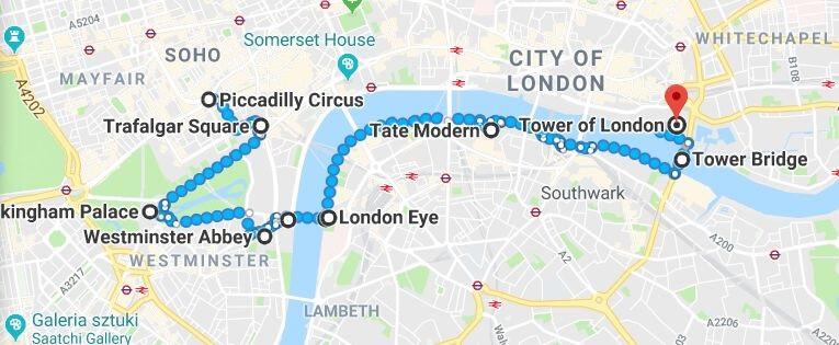 Londyn - bilety kolejowe online