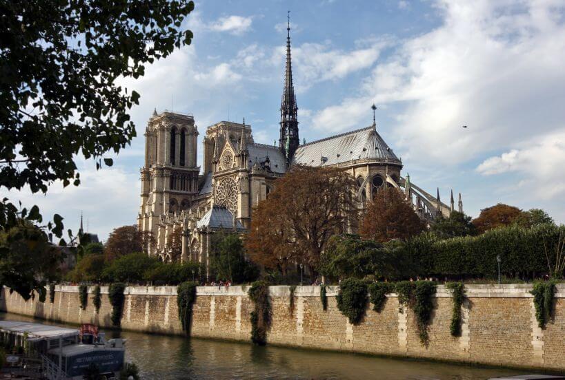 Pociągiem do Paryża - Katedra Notre Dame