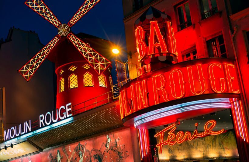 Paryż pociągiem Eurostar - Moulin Rouge