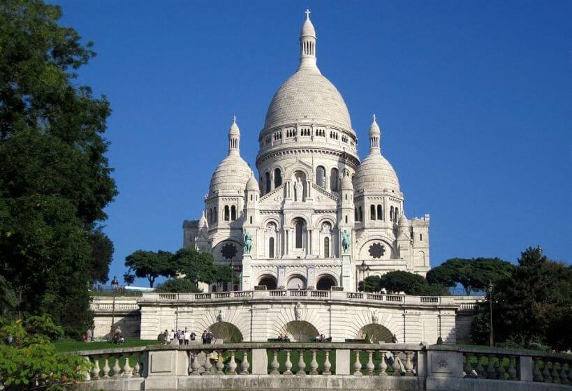 Paryż pociągiem Eurostar - Sacre Coeur
