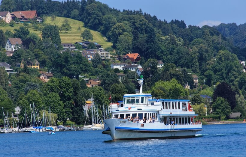 Wilhelm Tell Express - kolej panoramiczna w Szwajcarii