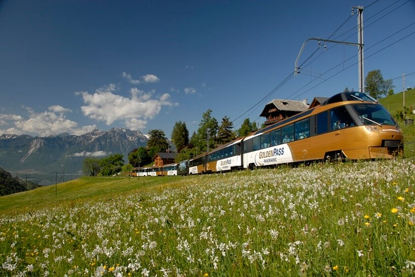 GoldenPass - bilet na pociąg