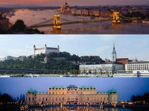 Danube capitals with PolishTrains