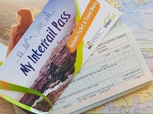 Interrail –  train tickets online