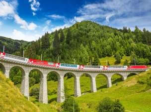 Bernina Express - train ticket