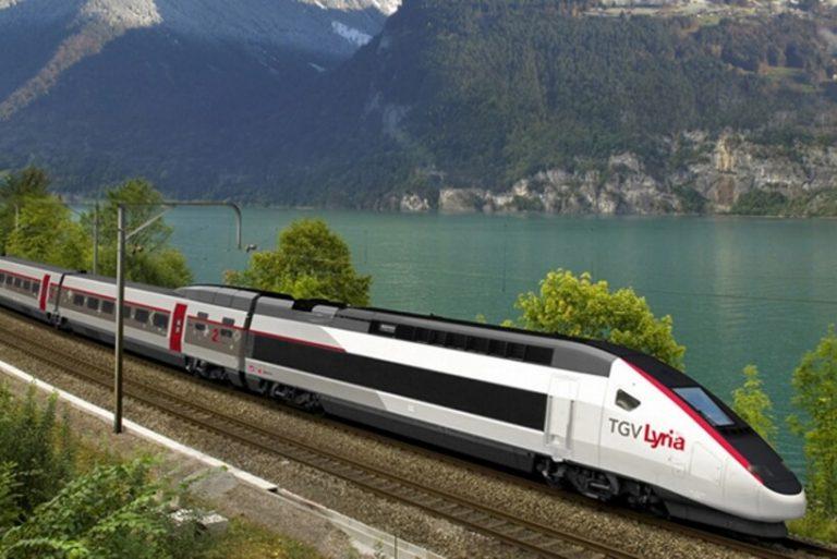 Французские поезда – TGV