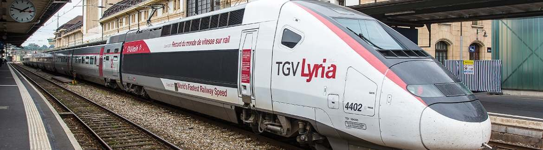 Французские поезда TGV