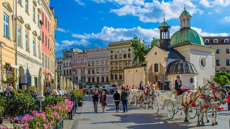Kraków - zakup biletów na pociąg