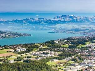 Швейцарская панорамная железная дорога