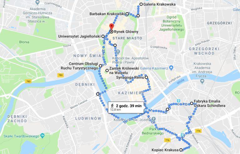 Krakow -train tickets online