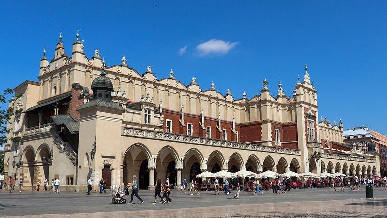 Train ticket to Krakow
