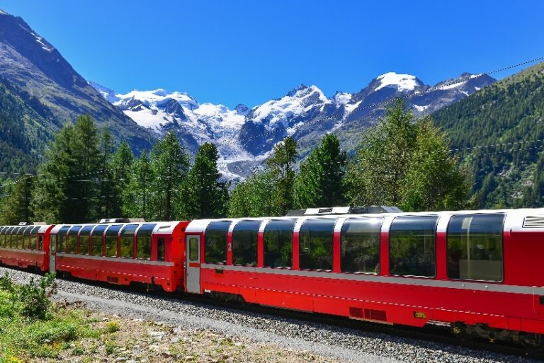 Bernina Express - билет на поезд